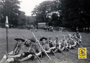 Zomerkamp Pacelligroep 1946 Dorst